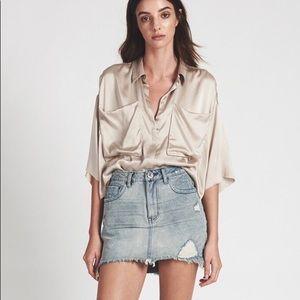 NWT ⭐️ ONE TEASPOON High Waisted Mini Skirt